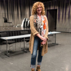 Harpa Guide at her Day Job (Opera Singer by Night)