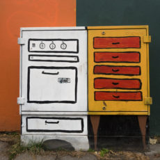 Street Art (Painted Utility Box)