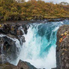 Bruafoss Falls
