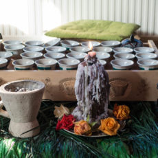 Coffee Ceremony at Milinik