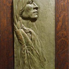 Jicarilla Apache Man by Alfred David Lenz, at Maryhill Museum