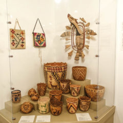 The enormous basket collection at Maryhill represents nearly every basket making tradition and style in N. Am.