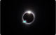 The Baily's Beads effect, also known as the diamond ring effect, was seen as the moon made its final move over the sun, but as for that aquamarine parallelogram . . . ?