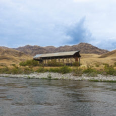 Farm Structure on the Snake River