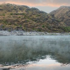Early morning mist on the Snake River