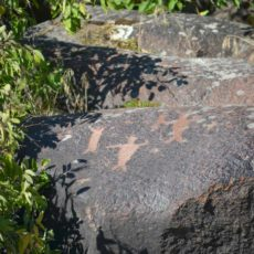 1700 year old petroglyph at Buffalo Eddy on the Snake River